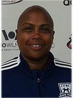 Kim Crabbe - 1st African American Woman to play for the US National Team
